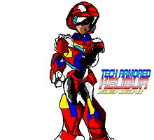 Tech Armor Kelibur Senshi by TakeshiUSA
