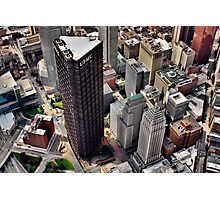 Pittsburgh Aerial - Center City Photographic Print