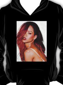 Rihanna Red T-Shirt