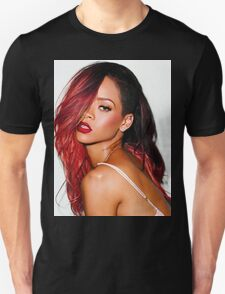 Rihanna Red T-Shirt