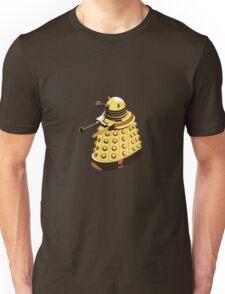Solitary Dalek in Yellow Unisex T-Shirt
