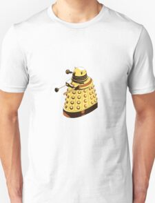 Solitary Dalek in Yellow T-Shirt