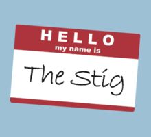 Hello my name is The Stig by lydiagill