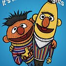 Bert and Ernie Gay Rights by Brett Gilbert