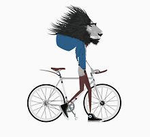 Hipster Lion and his Bicycle T-Shirt