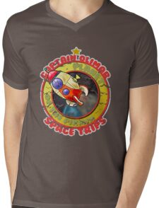 Pikmin Space Trips Mens V-Neck T-Shirt