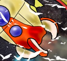 Pikmin Space Trips Sticker