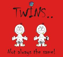 i-brow design: ( i-twins ) Baby Tee