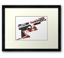 Tomb Raider 2013 'Pistol' Framed Print