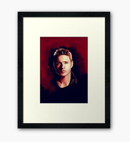 Dean Portrait Framed Print