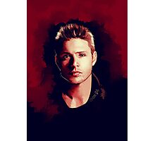 Dean Portrait Photographic Print