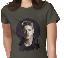 Dean Portrait Womens Fitted T-Shirt
