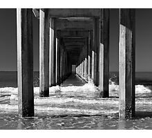 Underneath the Scripps Pier Photographic Print