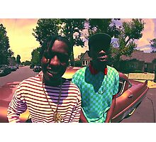 Tyler the Creator & ASAP Rocky Photographic Print