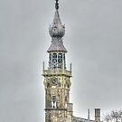 Tower Town Hall Veere by Jacqueline van Zetten
