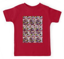 Colourful Patterns Kids Tee