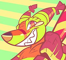 TQBF (Renard / The Quick Brown Fox) - Electrohell  by dicktree