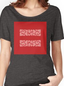 marriage equality symbol Women's Relaxed Fit T-Shirt