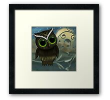 Life is such a Hoot Framed Print