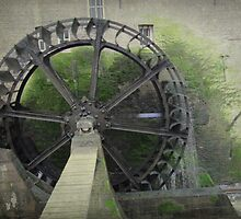 Waterwheel in Sittard by Smaragd