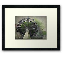 Waterwheel in Sittard Framed Print