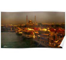 Bosporus Sun Poster