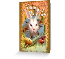 Happy Easter for All. Greeting Card