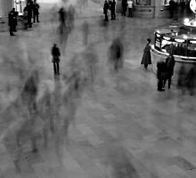 new york central station b&w by Andy Fairgrieve