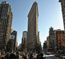 New York Flatiron building by Andy Fairgrieve