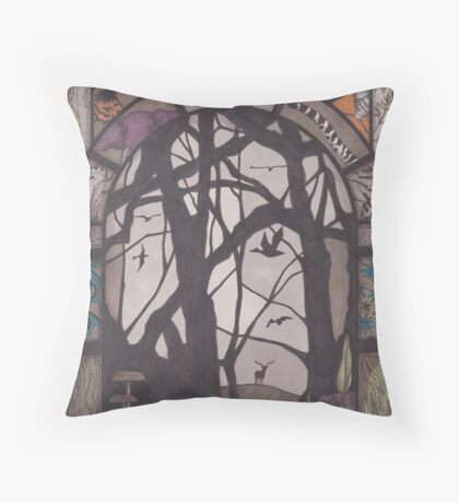 Life on Earth Throw Pillow