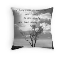 Born a Child Throw Pillow