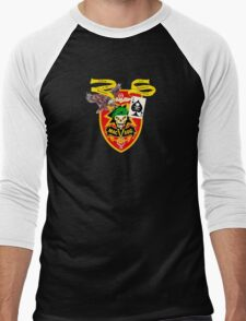 MacVsog with covert Cia  Men's Baseball ¾ T-Shirt