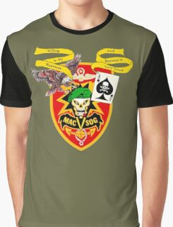 MacVsog with covert Cia  Graphic T-Shirt