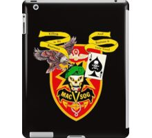 MacVsog with covert Cia  iPad Case/Skin