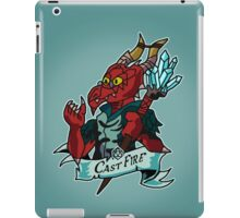 Roll for Casting Fire iPad Case/Skin