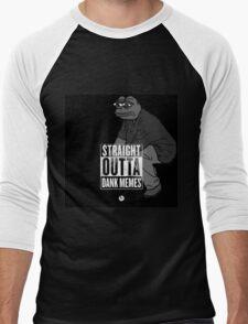 Dank Memes ( PEPE ) Men's Baseball ¾ T-Shirt