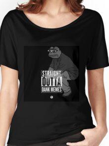 Dank Memes ( PEPE ) Women's Relaxed Fit T-Shirt