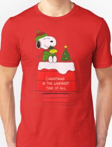 Best Friend Peanuts Snoopy and Woodstock Unisex T-Shirt