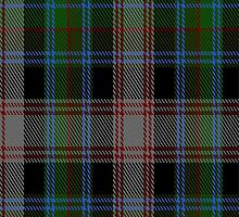 01392 Cherry Valley New York District Tartan Fabric Print Iphone Case by Detnecs2013