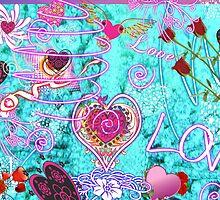 Love Makes the World Go Round! by artqueene