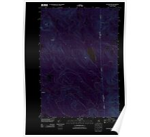 USGS TOPO Map New Hampshire NH Success Pond 20120508 TM Inverted Poster