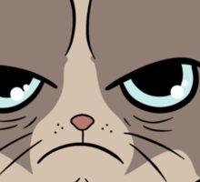 Stay Grumpy The Marshmallow Cat Sticker