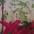 Red Eye Tree Frog by JackofallTrades