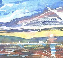 Burghead Bay 3, Moray Scotland - 2011 by sabro