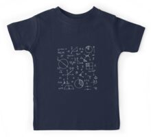 Math formulae (red) Kids Tee