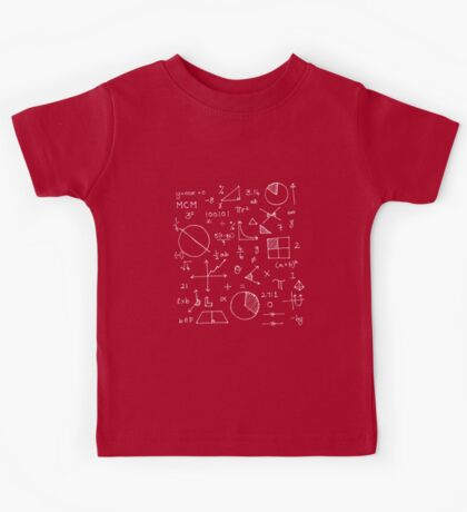 Math formulae (red) Kids Clothes