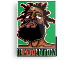 JAH CALLING: RASTA REVOLUTION Metal Print