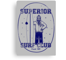 Superior Surf Club Canvas Print