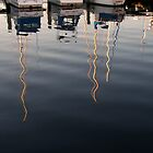 Mast reflections by Morag Anderson