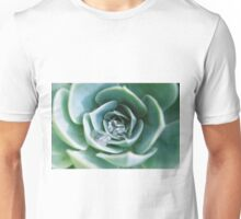 Water drops on succulant  Unisex T-Shirt